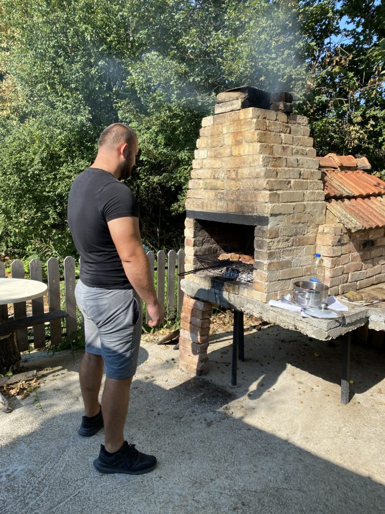 The barbecue area and trip to Batha 22/8-21